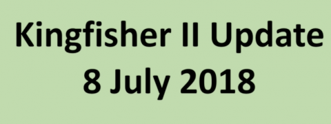 Kingfisher July Update